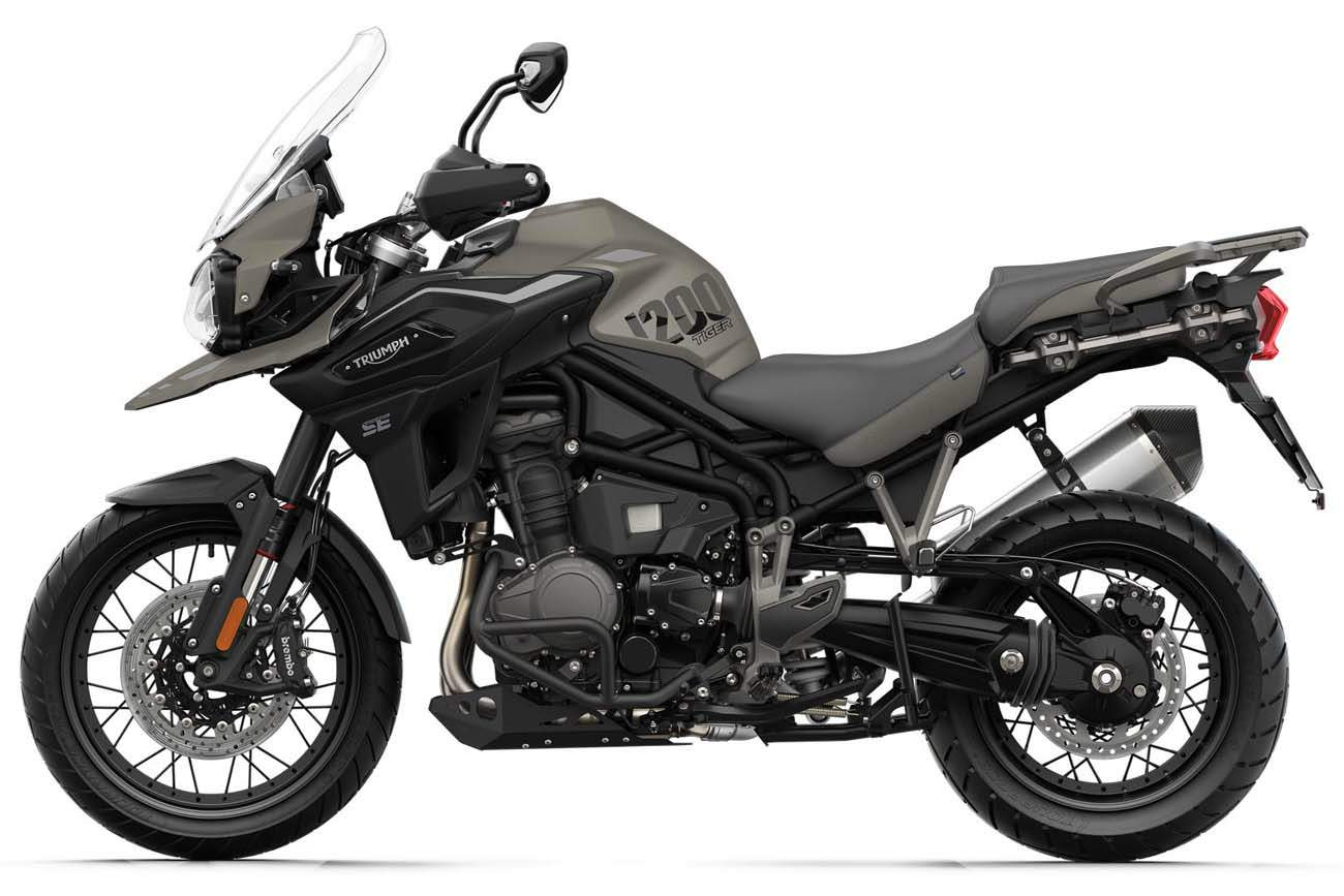 Triumph Tiger 1200Desert Special Edition technical specifications